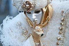 Venedig-Mädchen lizenzfreies stockfoto
