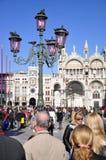 Venedig, Marktplatz San Marco Stockbilder