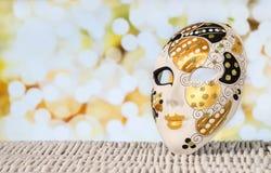 Venedig-Maskenhintergrund lizenzfreie stockfotos
