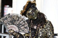Venedig-Maskenkarneval Stockfotografie
