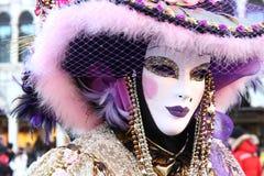 Venedig-Maskenkarneval Stockbild