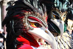 Venedig-Maskenkarneval Lizenzfreies Stockfoto