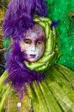 Venedig maskerar Fotografering för Bildbyråer