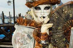 Venedig maskerar Arkivbild