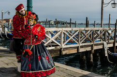 Venedig maskerar Royaltyfria Foton
