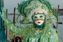 Venedig maskerar Arkivfoton