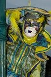 Venedig maskerar Royaltyfri Foto