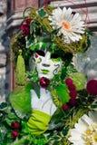 Venedig maskerar, karnevalet. Royaltyfri Bild