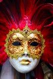 Venedig maskering Arkivfoto