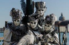 Venedig maskering Arkivbild