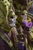 Venedig maskering Royaltyfri Fotografi