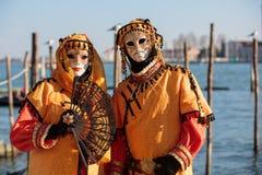 Venedig maskering Fotografering för Bildbyråer