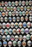 Venedig maskeringar Fotografering för Bildbyråer