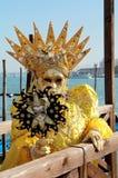 Venedig maskeringsstående Royaltyfri Bild