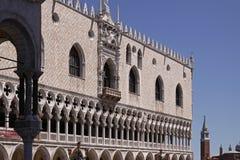 Venedig mit Palast des Doges, Veneto, Italien lizenzfreie stockfotografie