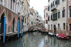 Venedig mitt Stock Illustrationer