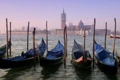 Venedig-Morgen lizenzfreies stockbild