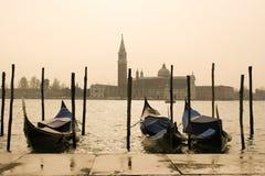 Venedig-Morgenansicht Stockfoto