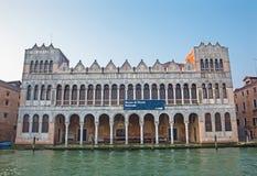 Venedig - Museo di Storia Naturale - museum av naturen Royaltyfri Foto