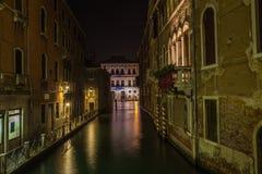 Venedig nachts - Italien Lizenzfreie Stockfotos
