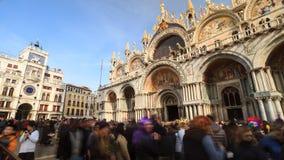 Venedig och San Marco fyrkant, Italien Royaltyfria Bilder