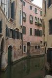 Venedig på en dimmig morgon Arkivbild