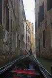 Venedig på en dimmig morgon Royaltyfria Foton