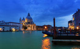 Venedig på solnedgången Royaltyfria Bilder
