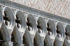 Venedig, Palazzo Ducale stockbild
