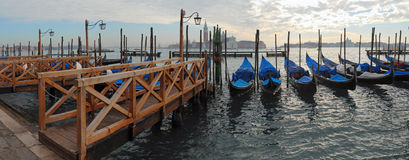 Venedig-Panorama Stockfotografie