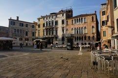 Venedig piazza Arkivbild