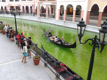 Venedig piazza royaltyfria bilder