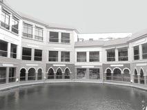 Venedig piazza Arkivfoto
