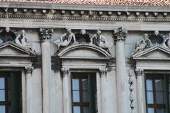 Venedig piazza San Marco Old Procuratie arkivbilder