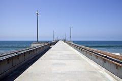Venedig-Pier in Soutern Kalifornien Stockbilder