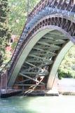 Venedig Ponte dell 'Accademia royaltyfria bilder