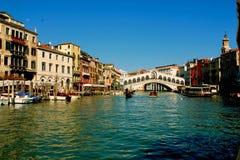 Venedig Ponte Rialto royaltyfri foto