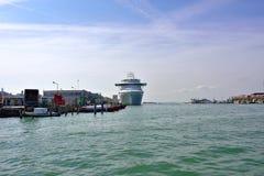 Venedig port Royaltyfria Foton