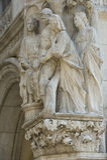 Venedig - Porta della Carta Royaltyfria Bilder