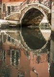 Venedig-Refection stockbilder