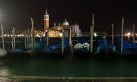 Venedig San Giorgio Arkivbild