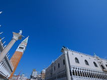 Venedig - San Marco - en olik sikt Royaltyfri Foto