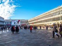 Venedig San Marco Square Arkivfoto