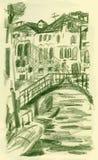 Venedig, San Stae Stockbild