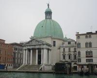 Venedig Santa Lucia Train Station Arkivbilder