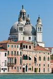 Venedig - Santa Maria della Gruß stockfotografie