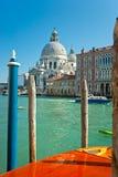 Venedig, Santa Maria della Gruß. Italien. Stockbild