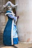Venedig-Schablone, Karneval 2009. Lizenzfreie Stockbilder