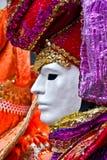 Venedig-Schablone, Karneval. Lizenzfreie Stockfotos