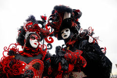Venedig-Schablone, Karneval. Stockfotografie